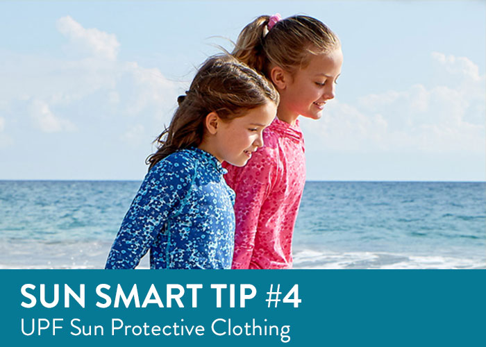 Sun Smart Tip Four - UPF Rated Sun Protective Clothing
