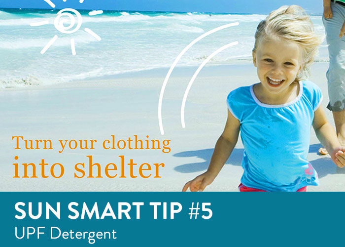 Sun Smart Tip Five - UPF Detergent