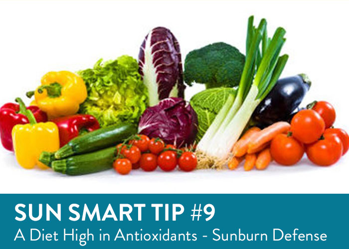 Sun Smart Tip Nine - Diet High in Antioxidants to Prevent Sunburn